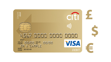 Link your Citi Visa Debit Card to any of your Current Accounts in just a few moments