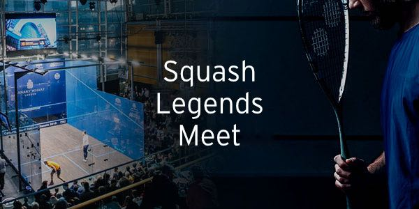 Citigold Wealth Management Canary Wharf Squash Classic 2019: Meet Squash Legends